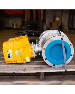 "8"" Control Valve with Actuator"